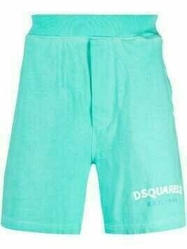 Dsquared2 logo-print shorts - Blue