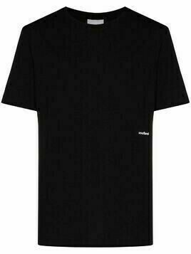 Soulland logo print T-shirt - Black