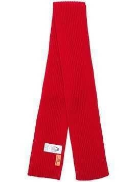 Andersen-Andersen knitted scarf - Red