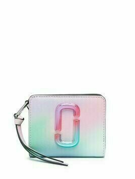 Marc Jacobs The Snapshot Airbrush 2.0 Mini wallet - Green