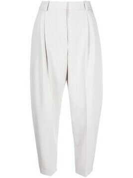 Stella McCartney cropped tailored trousers - Grey
