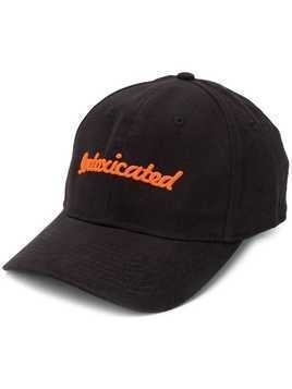 Intoxicated embroidered logo cap - Black