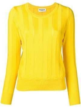 Essentiel Antwerp knitted sweatshirt - Yellow