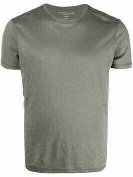 Majestic Filatures linen-blend T-shirt - Grey