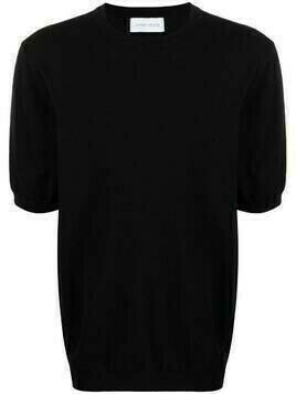 Christian Wijnants combed cotton knit top - Black