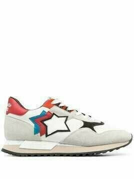 Atlantic Stars star patch low top sneakers - Neutrals