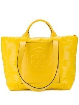 Tory Burch Perry Bombe padded tote bag - Yellow