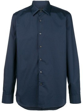 Prada slim fit shirt - Blue