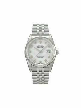 Rolex 2002 pre-owned Datejust 36mm - White