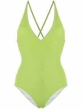 Marysia Sole woven one-piece - Green