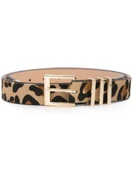 B-Low The Belt leopard print belt - Brown