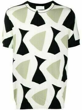 Christian Wijnants Kito triangle intarsia T-shirt - Neutrals