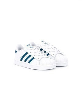 Adidas Kids Superstar Classic sneakers - White