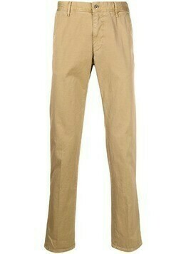 Incotex mid-rise straight-leg trousers - Neutrals