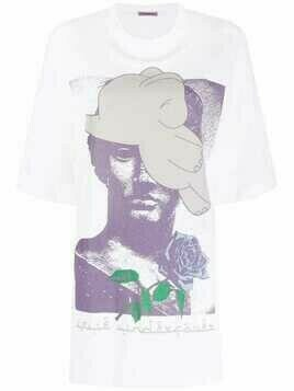 UNDERCOVER graphic-print cotton T-shirt - White
