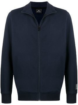 PS Paul Smith zip front cardigan - Blue