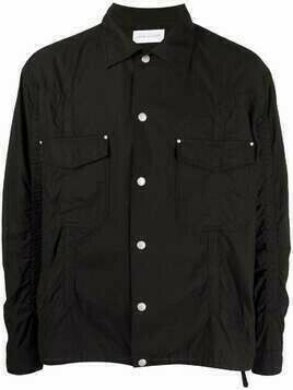 John Elliott panelled cargo shirt - Black