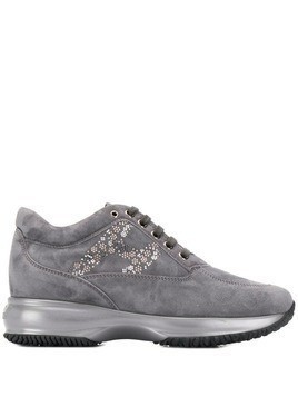 Hogan platform sneakers - Grey