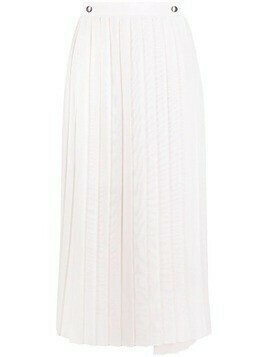 Brunello Cucinelli high-waisted pleated skirt - Neutrals