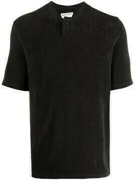 Bottega Veneta short-sleeve polo shirt - Brown