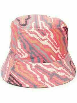 Esteban Cortazar zebra-print bucket hat - Red