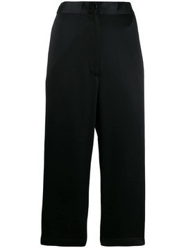 Mm6 Maison Margiela elasticated crop pants - Black