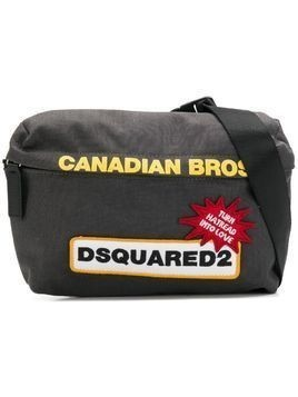 Dsquared2 logo patch belt bag - Grey