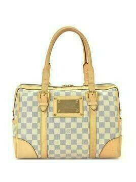 Louis Vuitton pre-owned Damier Azur Berkeley tote bag - White