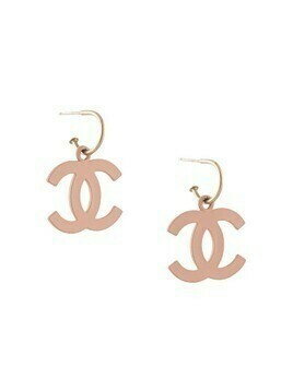 Chanel Pre-Owned 2003 CC shaking earrings - Neutrals
