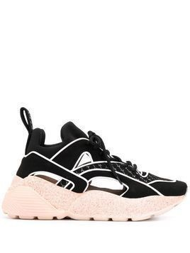 Stella McCartney Eclypse cut-out sneakers - Black