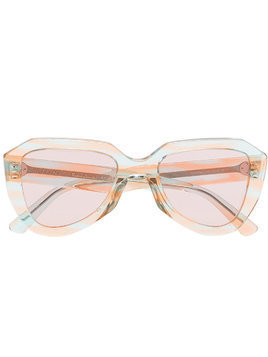 Céline Eyewear pink and blue aviator sunglasses - Unavailable