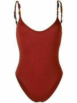 Eres Moonstone scoop back swimsuit - Red