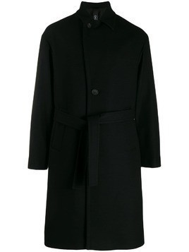 Hevo belted trench coat - Black