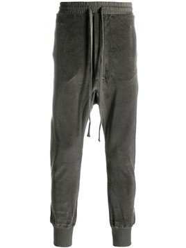 Thom Krom high waisted track pants - Grey