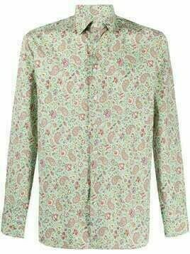 Etro floral paisley shirt - Green