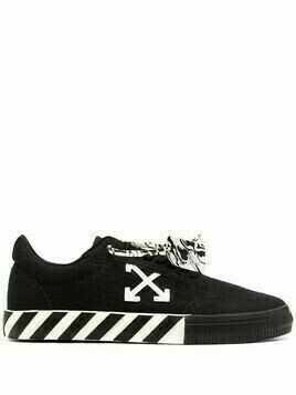 Off-White low-top vulcanized sneakers - Black