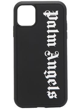 Palm Angels stencil-logo iPhone 11 case - Black