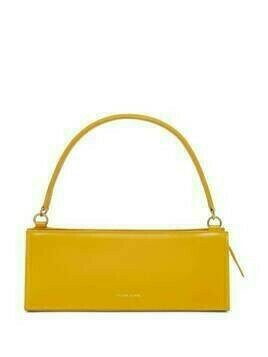 Mansur Gavriel Pencil Case leather bag - Yellow
