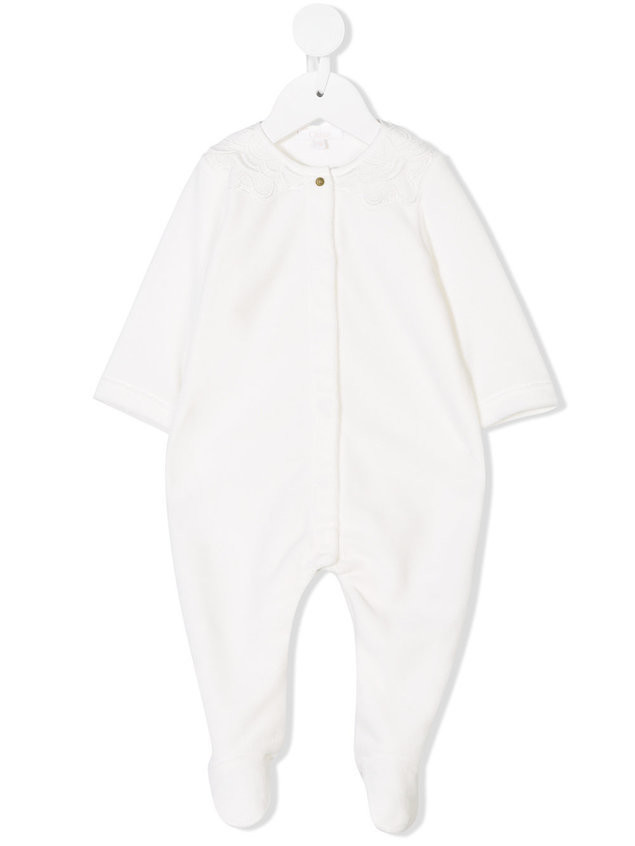 Chloé Kids romper suit - White