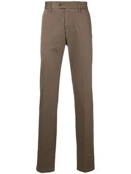Paul & Shark classic slim chinos - Brown
