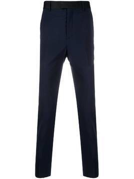 Les Hommes tailored straight leg trousers - Blue
