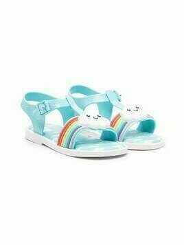 Mini Melissa Rainbow Cloud sandals - Blue