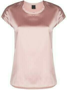 Pinko silk-satin T-shirt