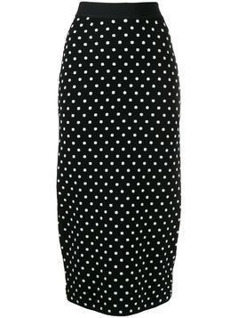 Escada Sport polka-dot pencil skirt - Black