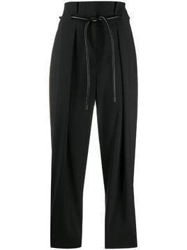 #Mumofsix cropped length trousers - Black