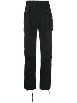 Engineered Garments straight-leg cargo trousers - Black