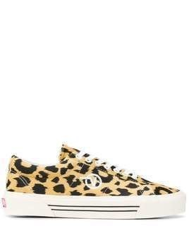 Vans Sid Dx leopard-print sneakers - Yellow