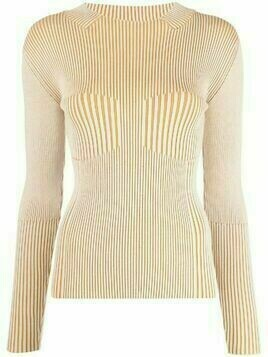 Aeron ribbed knitted jumper - Neutrals