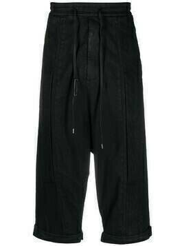 Army Of Me drop-crotch drawstring trousers - Black
