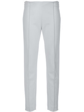 Le Tricot Perugia slim-fit tailored trousers - Grey